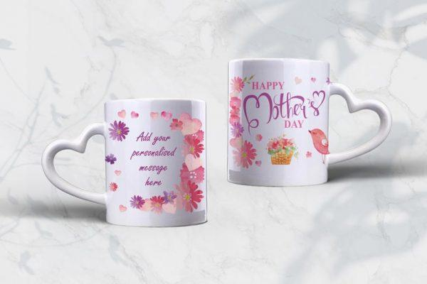 white background and two mugs
